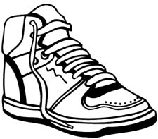 running shoes clipart clipart panda free clipart images rh clipartpanda com clip art shoes free clip art shoes and boots