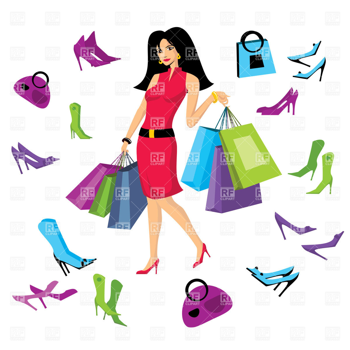 shopping bag clipart clipart panda free clipart images woman with shopping cart clipart african american woman shopping clipart