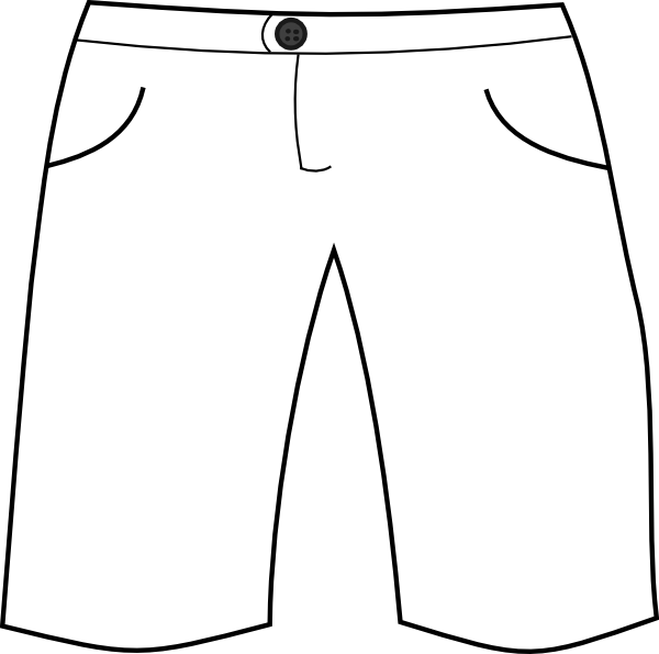 Shorts Clipart Black And White | Clipart Panda - Free Clipart Images