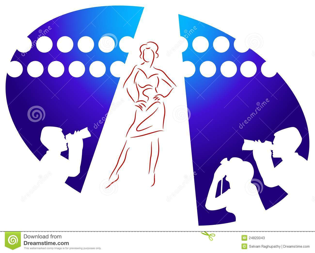 Clip art for fashion show 15