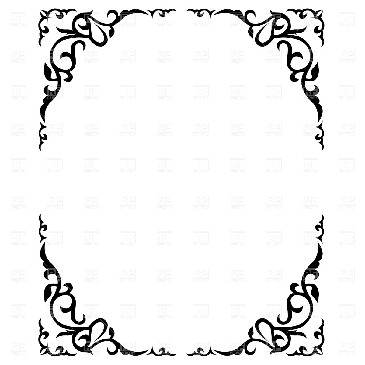 free clipart ornate frames - photo #14