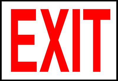 exit sign clip art clipart clipart panda free clipart images rh clipartpanda com emergency exit sign clip art no exit sign clip art