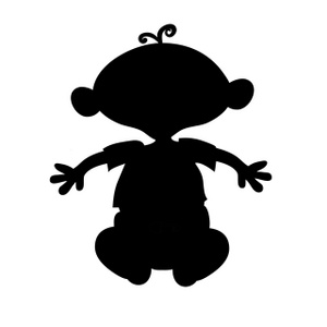 Clip Art Clip Art Silhouette people clipart silhouette panda free images