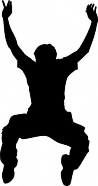 jumper silhouette clip art clipart panda free clipart images rh clipartpanda com clip art silhouette pig clip art silhouettes of people