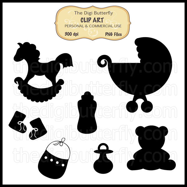 Silhouette Clip Art Of Children Clipart Panda Free