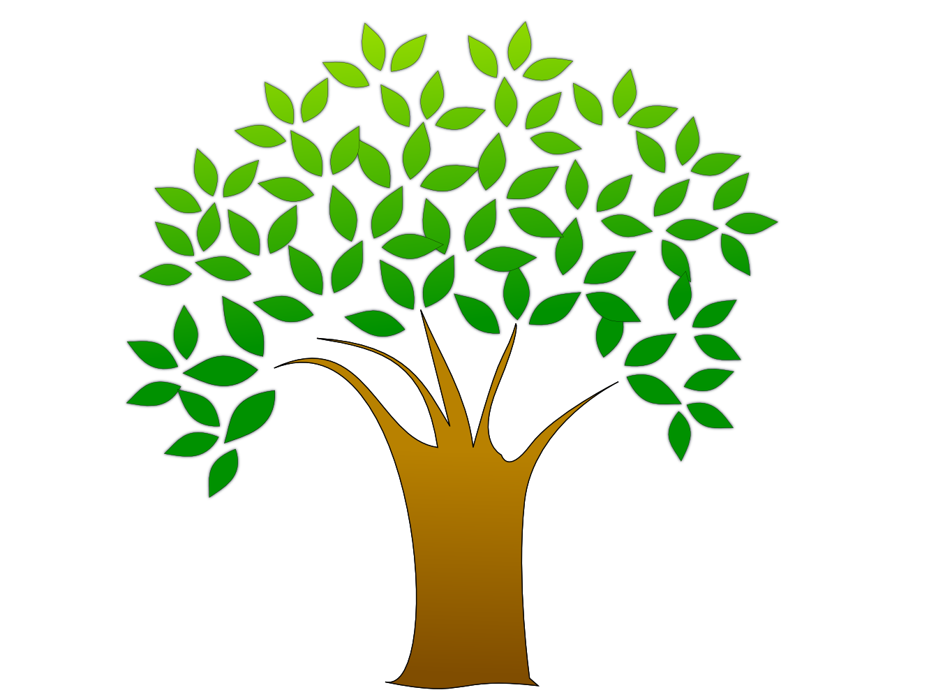 Simple Bare Tree Clipart | Clipart Panda - Free Clipart Images