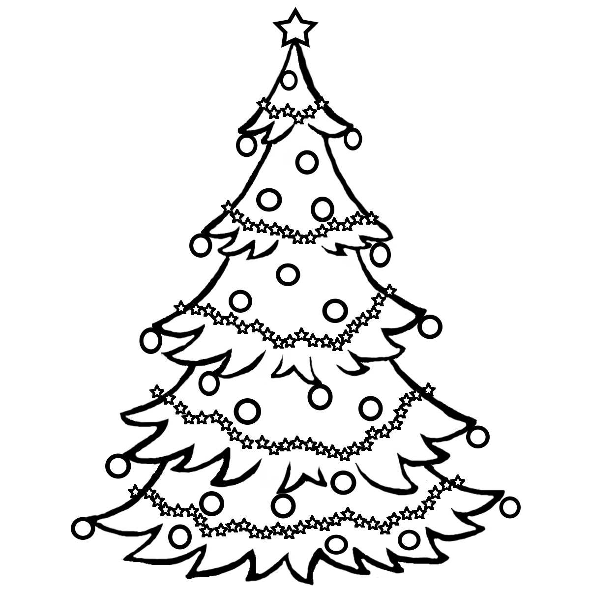 Christmas Cookie Clip Art Black And White | Clipart Panda ...