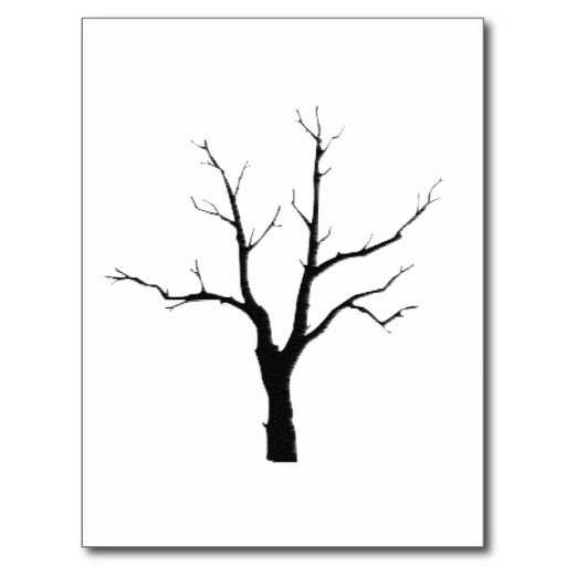 Winter Tree Black and White | Clipart Panda - Free Clipart ...