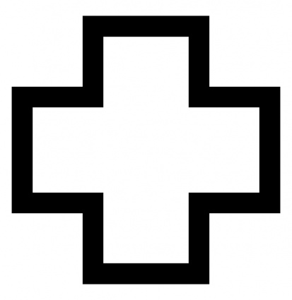 Simple Black Cross Clip Art | Clipart Panda - Free Clipart ...