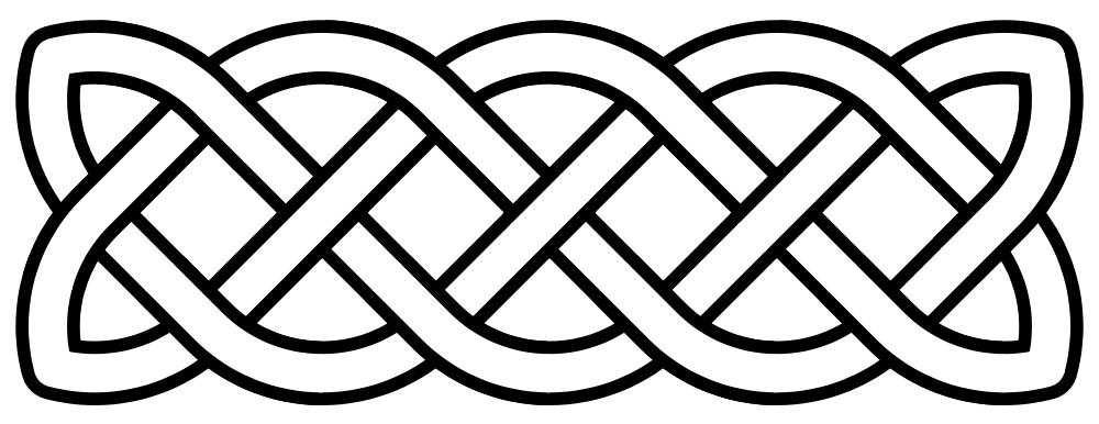 Basic Line Designs : How to vectorise a celtic pattern inkscapeforum