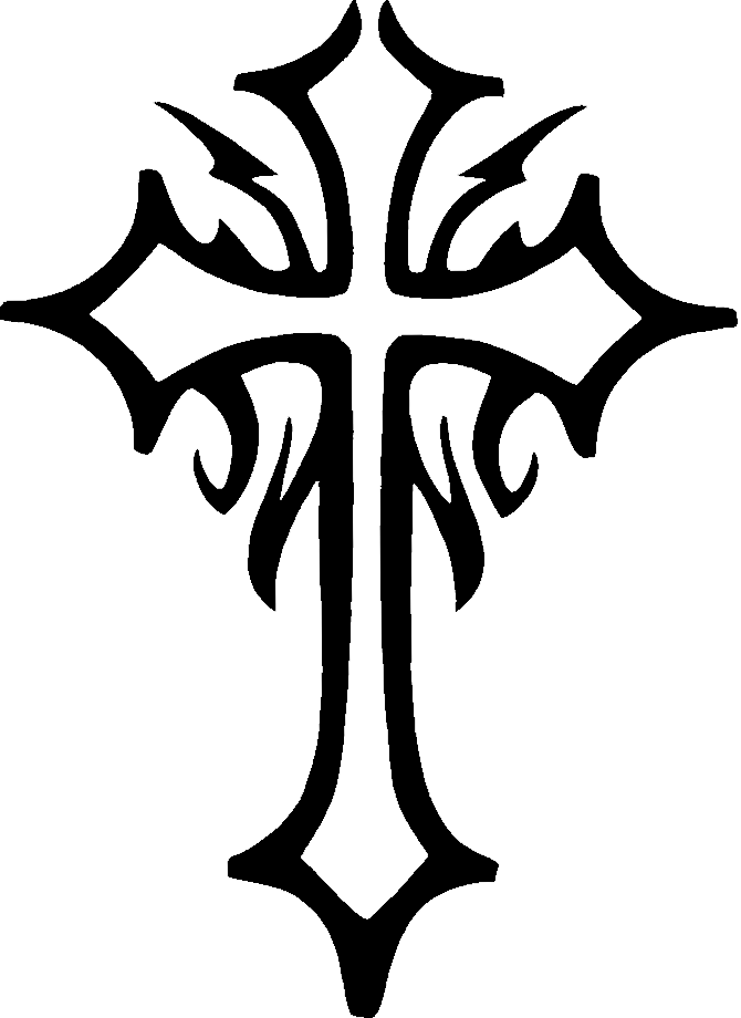 Simple Cross Line Art : Simple celtic cross clip art clipart panda free