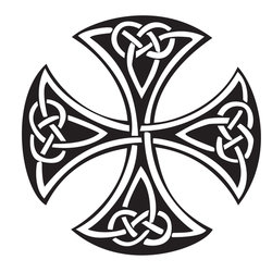 Simple Celtic Cross Clip Art | Clipart Panda - Free Clipart Images