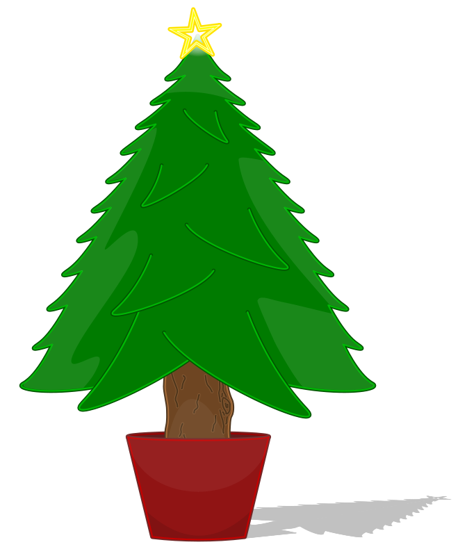 Simple Christmas Tree Clipart | Clipart Panda - Free ...