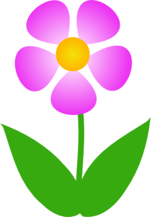 simple-flower-clipart-PngMedium-flower-simple-and-colorful-with-two ...