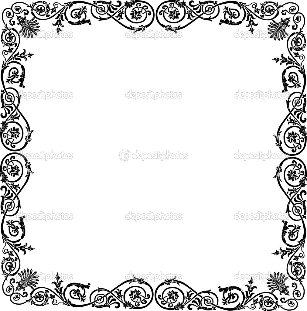 Simple frame designs clipart panda free clipart images for Design a frame