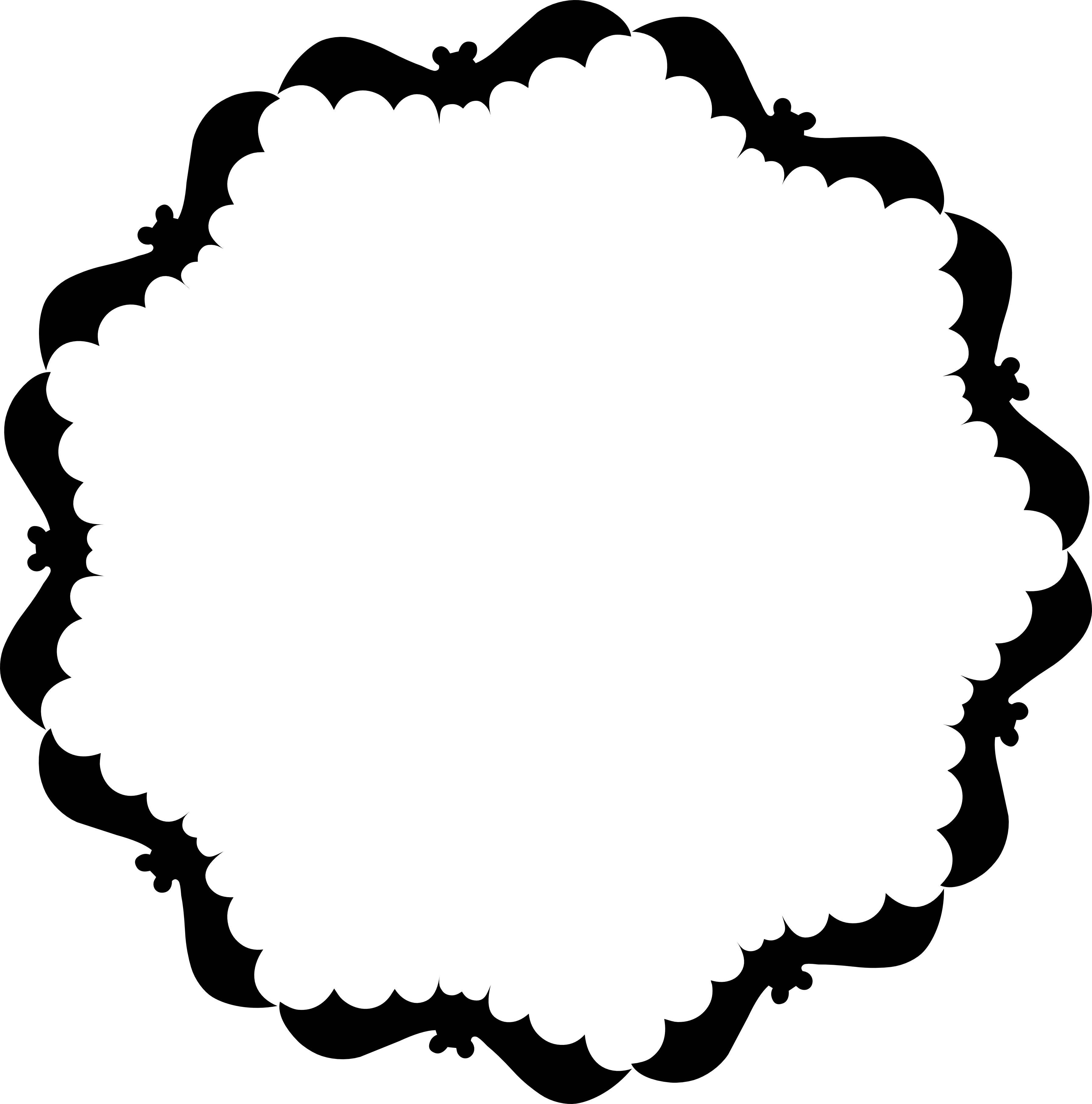 Free Printable Border Designs For Paper Black And White