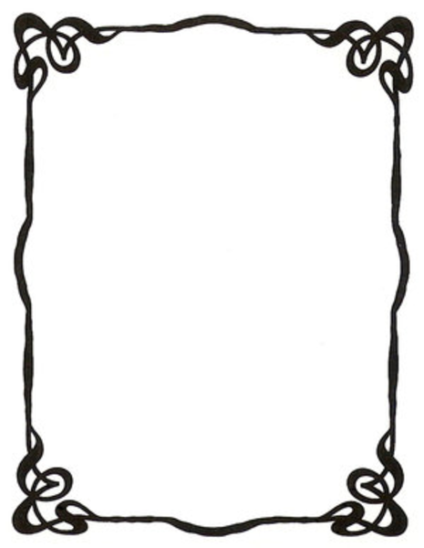Simple Frame Designs  Clipart Panda  Free Clipart Images