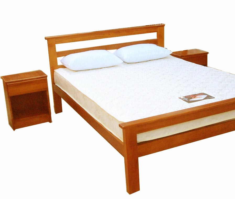Storage Wood Bed Frame