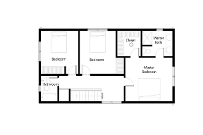 Floor Plan Second Floor Zoom | Clipart Panda - Free ...