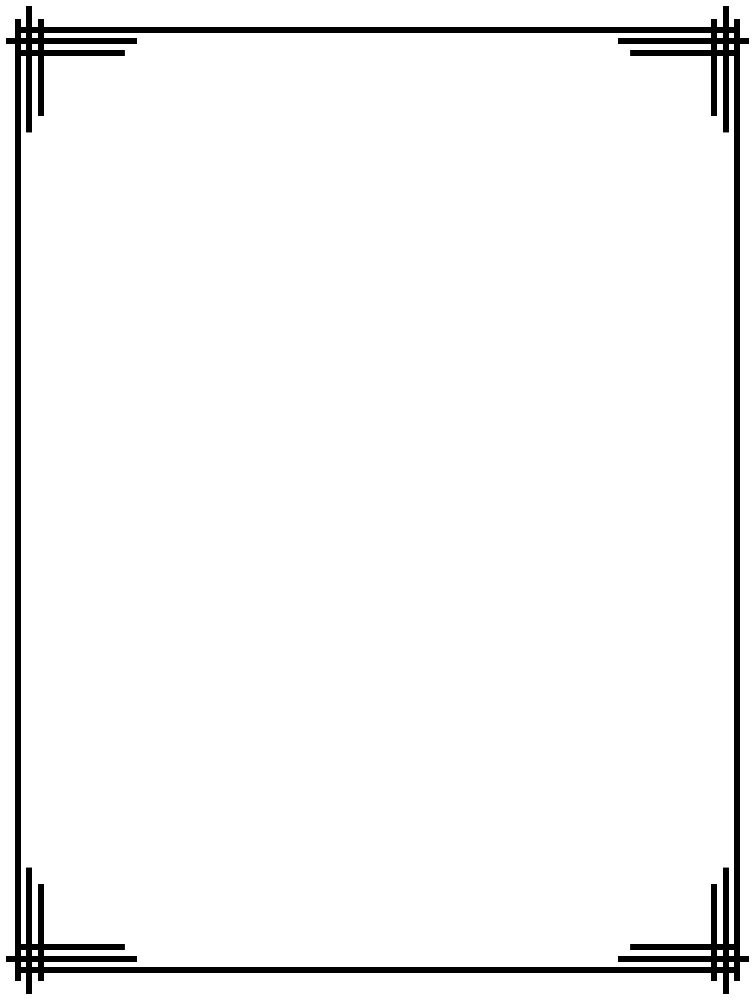 Simple Line Art Borders : Simple line border clipart panda free