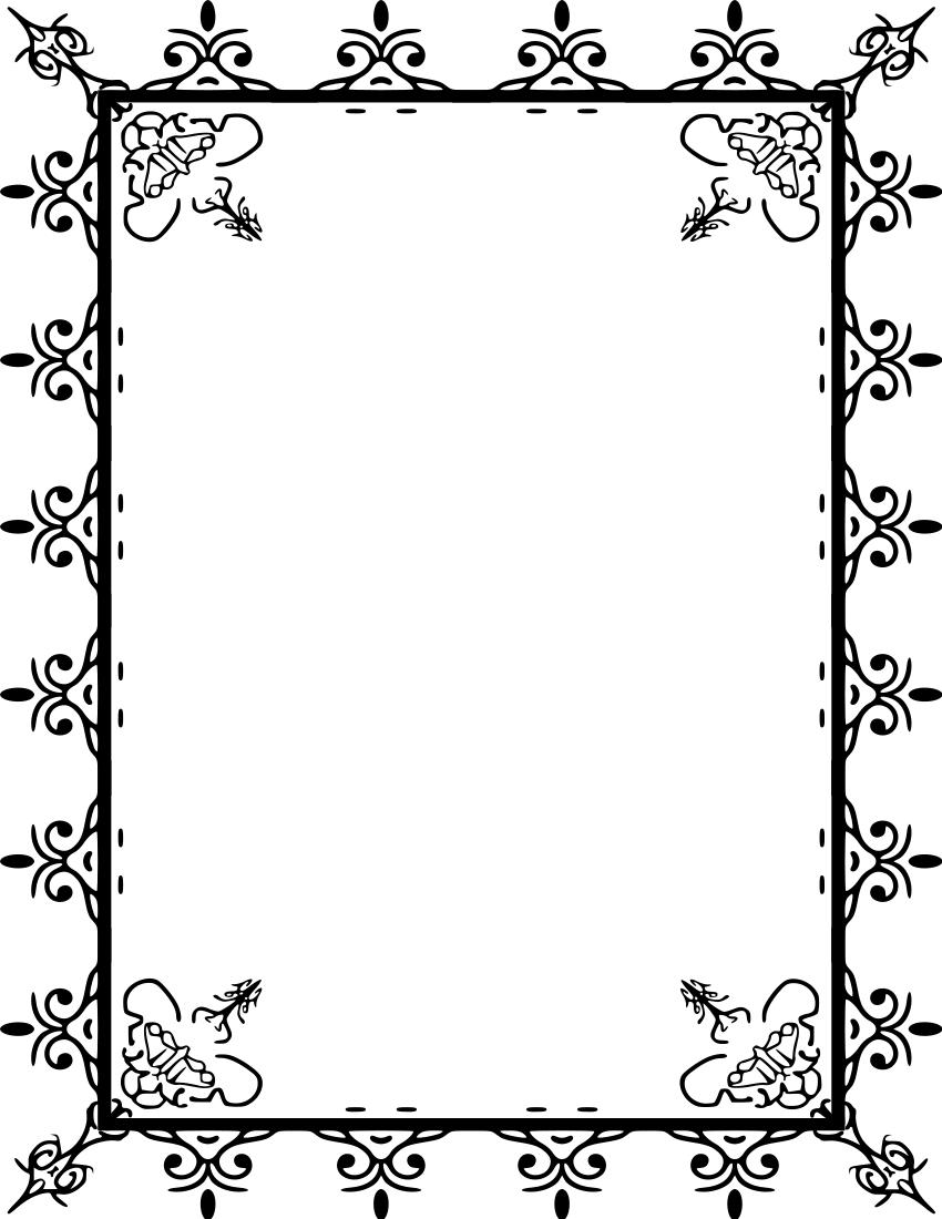 Line Border Designs | Clipart Panda - Free Clipart Images