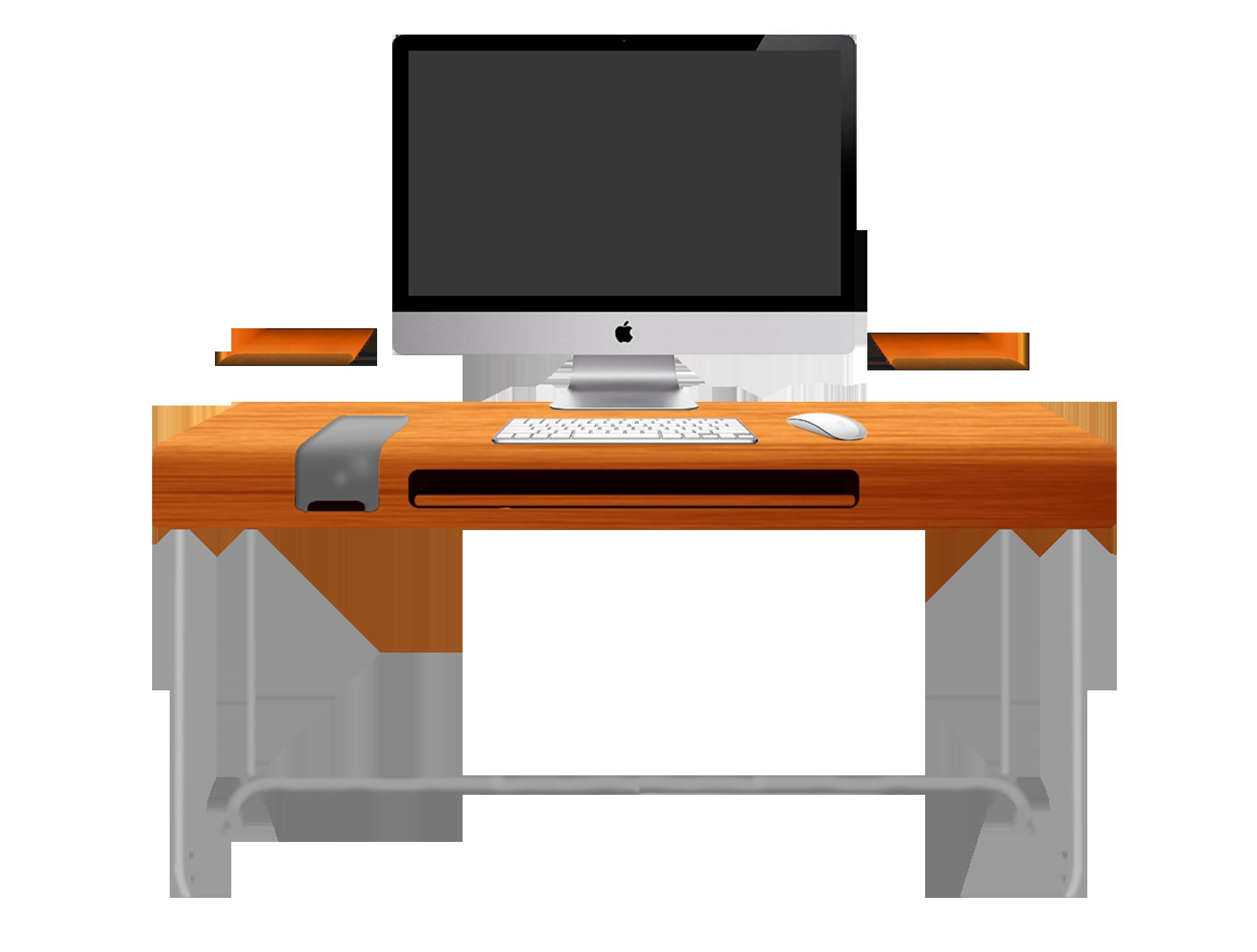 Computer Desk Modern | Clipart Panda - Free Clipart Images