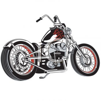 Simple Motorcycle Clipart | Clipart Panda - Free Clipart Images