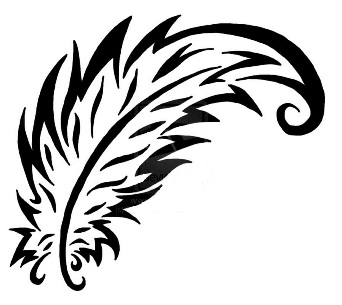Simple peacock feather tattoo designs - photo#12