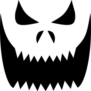 It is a photo of Versatile Pumpkin Carving Outlines Printable