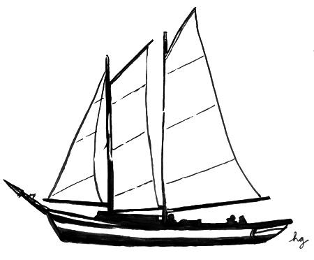 sailboat drawing Gallery