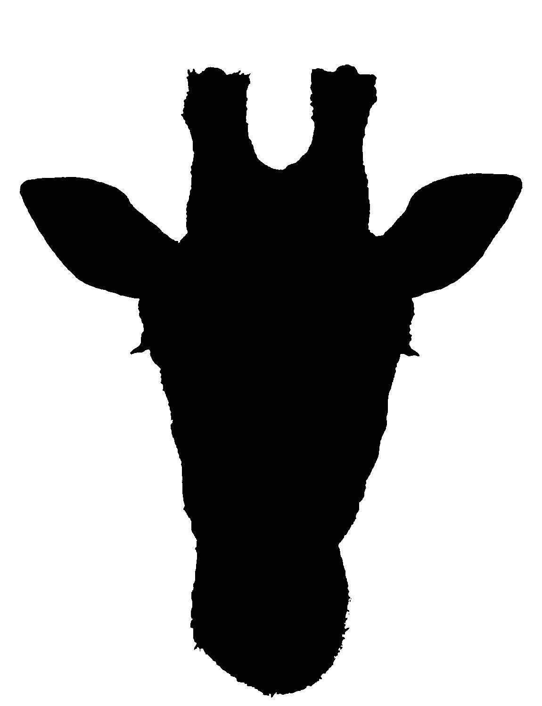 Giraffe Silhouette Clip Art | Clipart Panda - Free Clipart ...