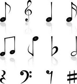 Music Notes Symbols And Meanings Clipart Panda Free