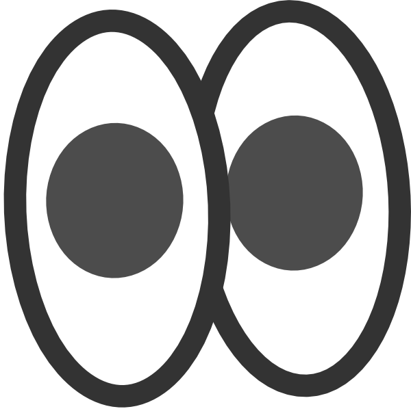 Pair Of Eyes Clipart Black And White Hd Wallpaper Gallery