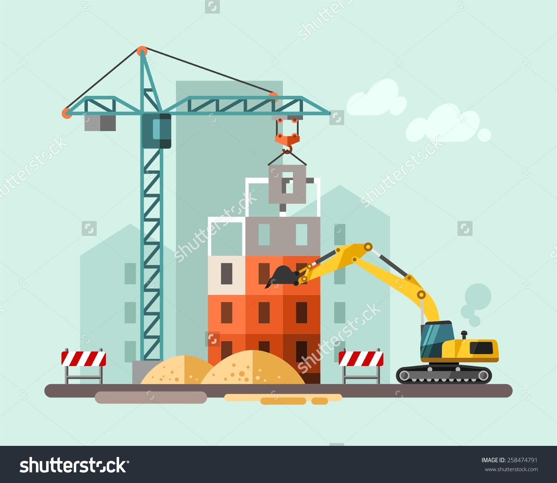 Building Construction Clip Art : Site clipart panda free images