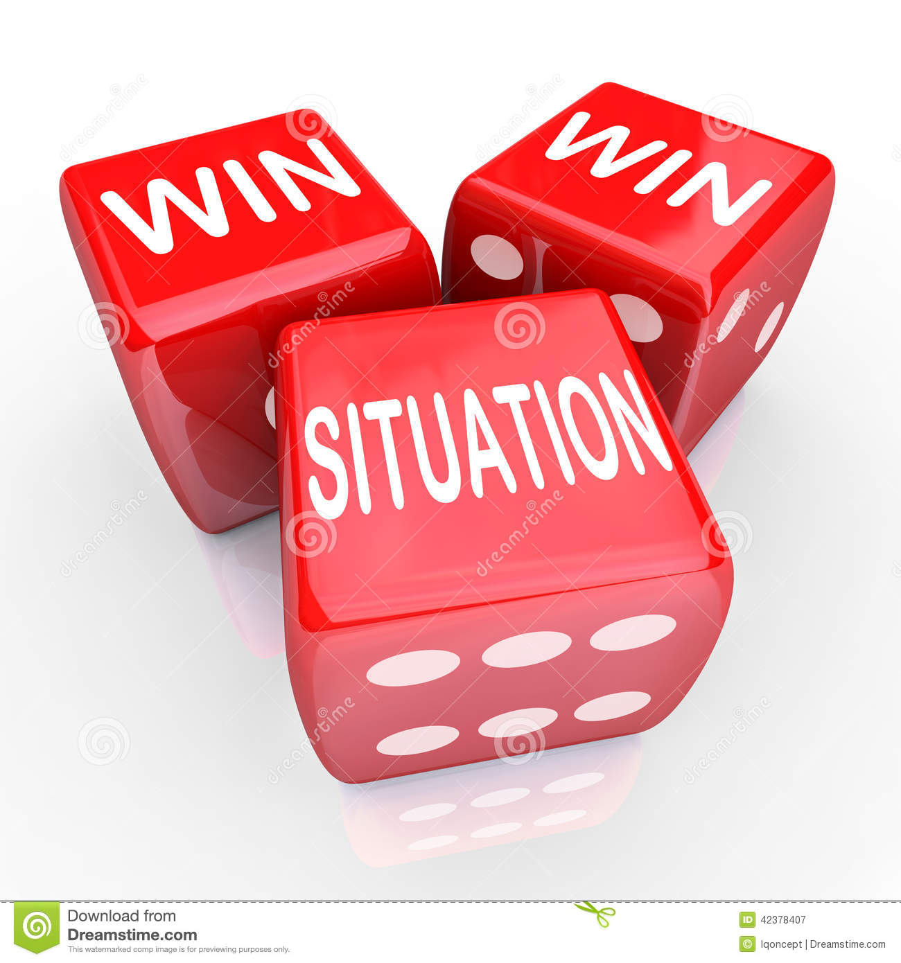 win win situation Examine how a poorly implemented win-win negotiation style can fail to deliver business goals and leaves gold on the table.