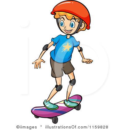 Skateboard Clipart Skateboard clipart
