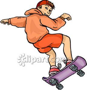 Skateboarding Clip Art | Clipart Panda - Free Clipart Images