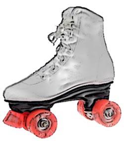 Roller Skating Clip Art