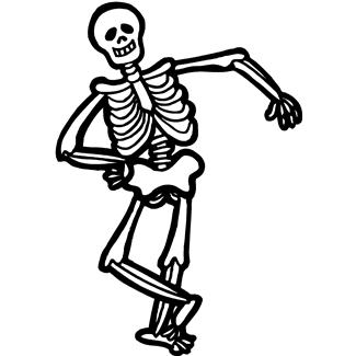Image result for skeleton clipart