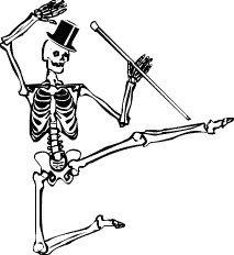 free dancing skeleton clipart clipart panda free clipart images rh clipartpanda com skeleton clip art free printable skeleton clip art halloween