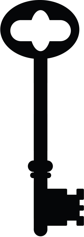 Skeleton Key Clipart