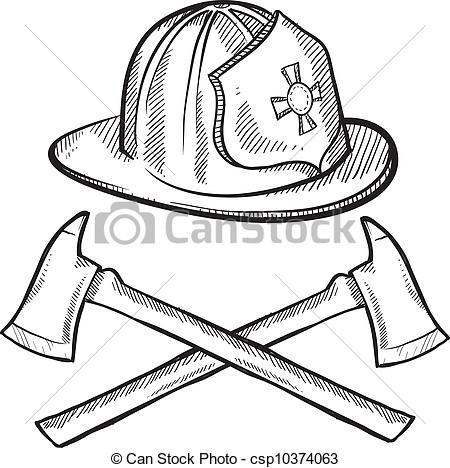 Fireman Hat Clip Art Fire hat clipart