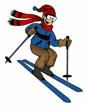 Ski Clip Art