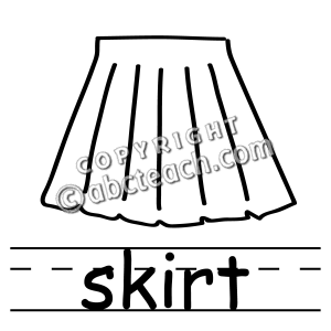 Skirt Black And White Clipart | www.pixshark.com - Images ...