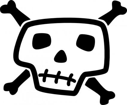 skull and bones clip art clipart panda free clipart images rh clipartpanda com clipart skull and crossbones pirate skull and crossbones clip art free download