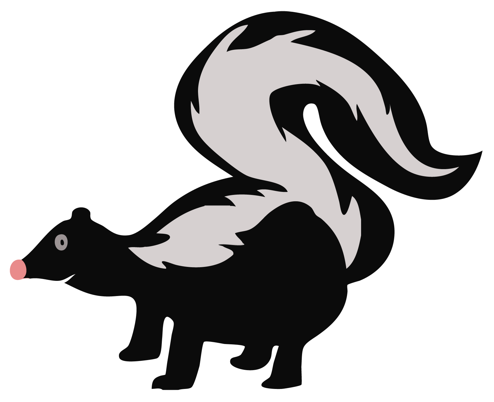 skunk clipart clipart panda free clipart images rh clipartpanda com skunk clip art free skunk clipart png