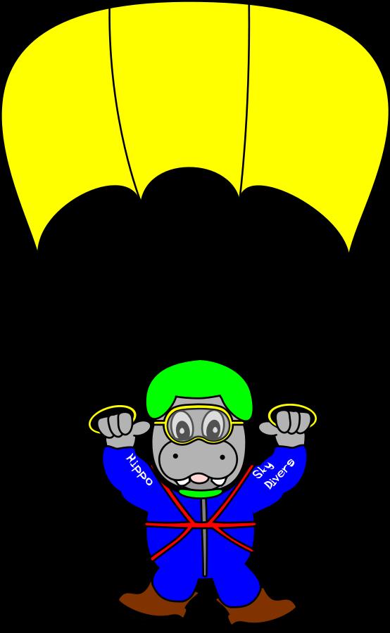 cartoon clipart parachute - photo #47
