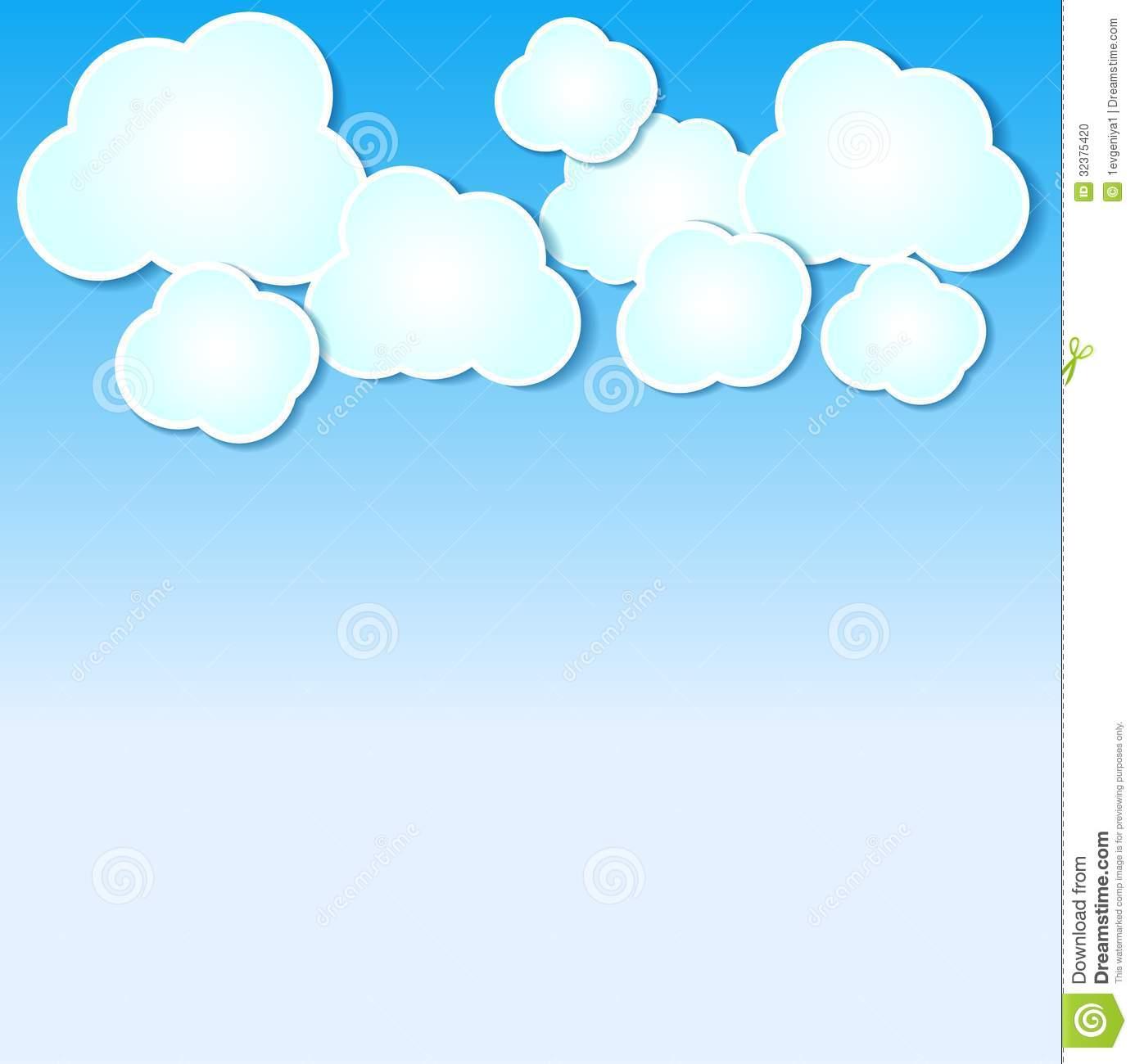 cloud clipart background - photo #49