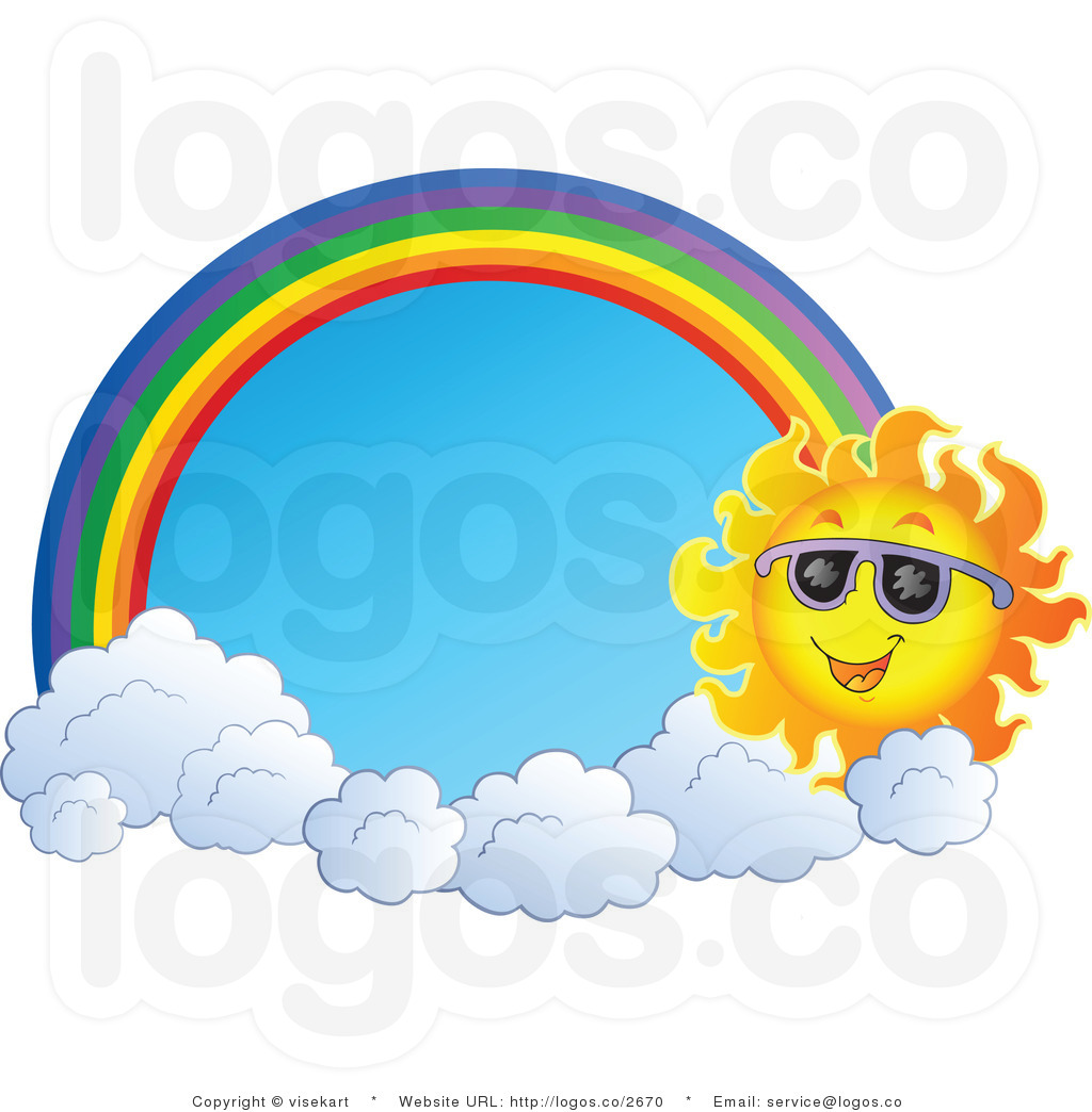 Rainbow Clouds Clipart...