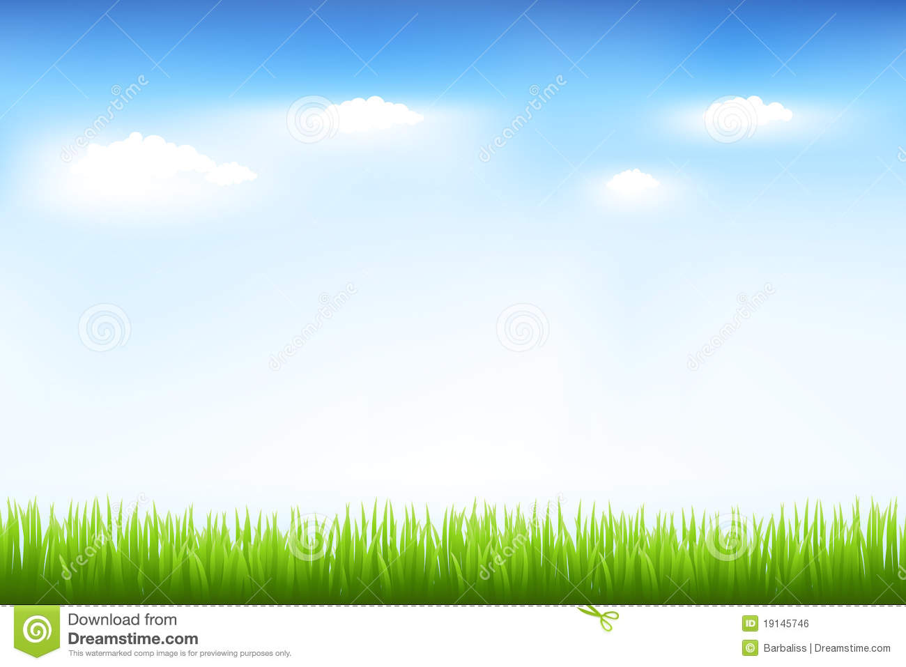 green grass and blue sky | clipart panda - free clipart images